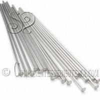 Bastón de acero Tope Plano 40mm (50Uds)