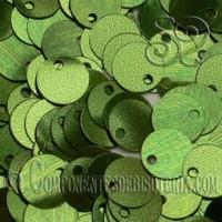Lentejuelas Lisas Verde