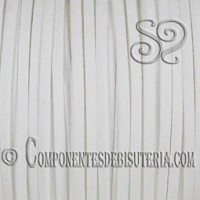 Cordon Plano Antelina Blanco