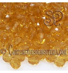 Bola Cristal Checo Light Topaz 4mm