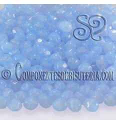 Bola Cristal Checo Sapphire Opal 4mm