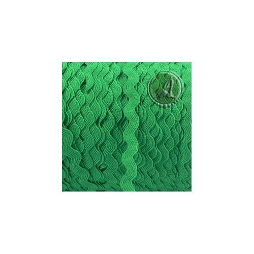 Cinta zigzag ondulina verde de 6mm for Ondulina verde