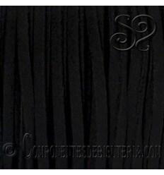 Cordon Plano Antelina Negro
