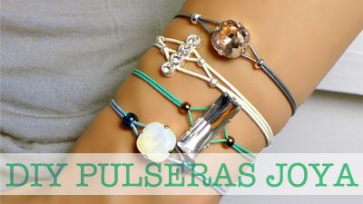 DIY Pulseras Joya
