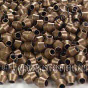 Tupi de Metal Bronce (50Uds)