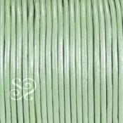 Cuero Hindu Verde Metalizado