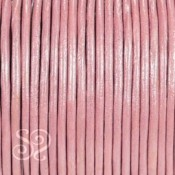 Cuero Hindu Rosa Metalizado