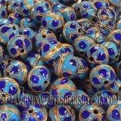 Bola Cloisonne Azul