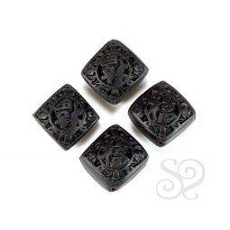 Rombo Cinnabar Negro 15mm