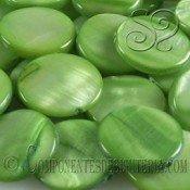 Cuenta de Nacar Verde