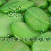 Cuenta de Nácar Verde