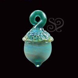 Abalorio Bellota de Cristal Italiano