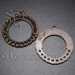 par fornitura filigrana bronce 33mm