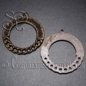 par fornitura filigrana bronce 33mm