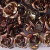 ROSAS METAL 12MM LACADO BRONCE X 25 UNIDADES
