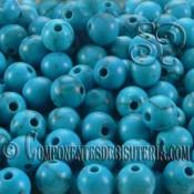 Turquesa Azul 6mm (10uds)