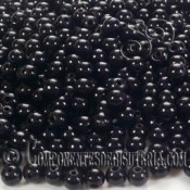 Agata Negra 3mm (25uds)