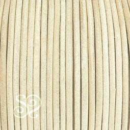 Cuero Hindu Natural de 3mm