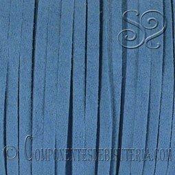 Cordon Plano Antelina Azul Intenso