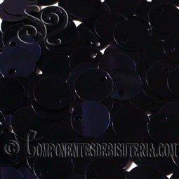 Lentejuelas Lisas Negras