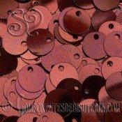 Lentejuelas Lisas Marrón Oscuro