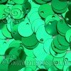 Lentejuelas Lisas Verde Esmeralda