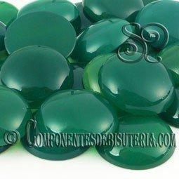 Cabuchon Agata Verde 20mm