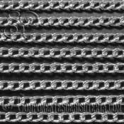 Cadena Aluminio Plateado