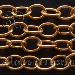 Cadena Aluminio Dorado