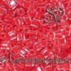 CUBOS TOHO 4MM INSIDE COLOR CRISTAL TOMATO LINE X 6GR