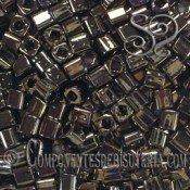 CUBOS TOHO 4MM METALLIC IRIS BROWN X 6GR