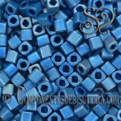 CUBOS TOHO 4MM AZUL HIGHER METALLIC FROSTED X 6GR