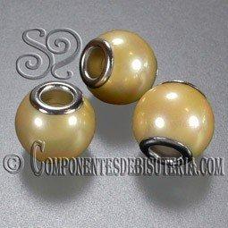 Perla Pando de Nacar Amarillo Perlado