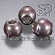 Perla Pando de Nacar Marron Perlado