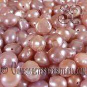 Perla de Rio Nugget Rosa Perlado Oscuro