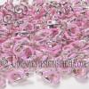 Cierre Mosquetón Plata Rosa (5uds)