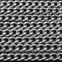 Cadena Aluminio Plata
