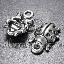 Charm Mariquita de Metal