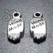 """Charm Mano """"Hand Made"""" de Metal"""