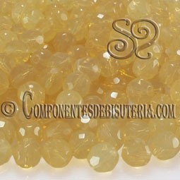 Bola Cristal Checo Milky White Opal 4mm