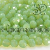 Bola Cristal Checo Mint Opal 4mm
