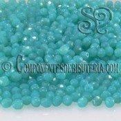Bola Cristal Checo Caribbean Blue 4mm