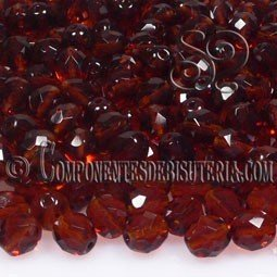 Bola Cristal Checo Dark Topaz 6mm