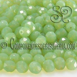 Bola Cristal Checo Mint Opal 6mm