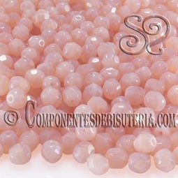 Bola Cristal Checo Rosa Opal 6mm