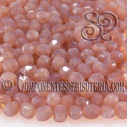 Bola Cristal Checo Peach Pearl 6mm