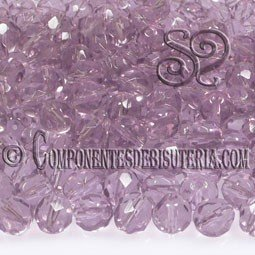 Bola Cristal Checo Light Amethyst 8mm