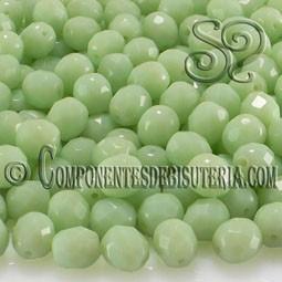 Bola Cristal Checo Verde 8mm