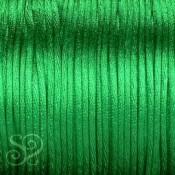 Cordón Cola de Ratón 1mm Verde x 10 metros