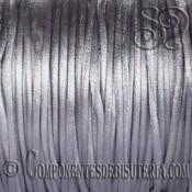 Cordon Cola de Raton 1mm plata x 10 metros